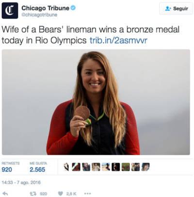 Eina per una comunicació no sexista (Observatori de les Dones en els mitjans de comunicació): tweet chicagotribune jjoo