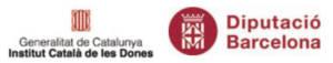 Eina per una comunicació no sexista (Observatori de les Dones en els mitjans de comunicació): Logos ICD i DIBA